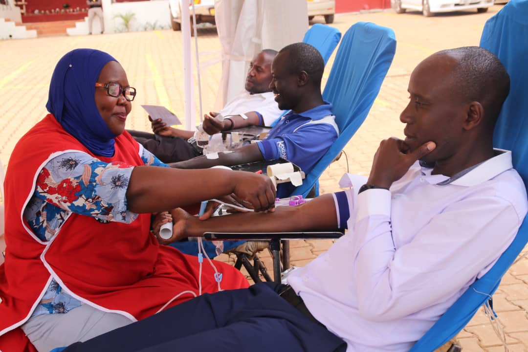 Housing Finance Bank partners with Universal Multipurpose Enterprises and Nakasero Blood Bank in a blood donation initiative